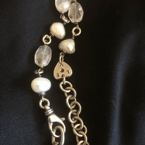 Jewelry - ALANA LEiGH pearl and sterling silver necklace